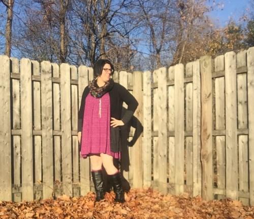 purple swing dress 2