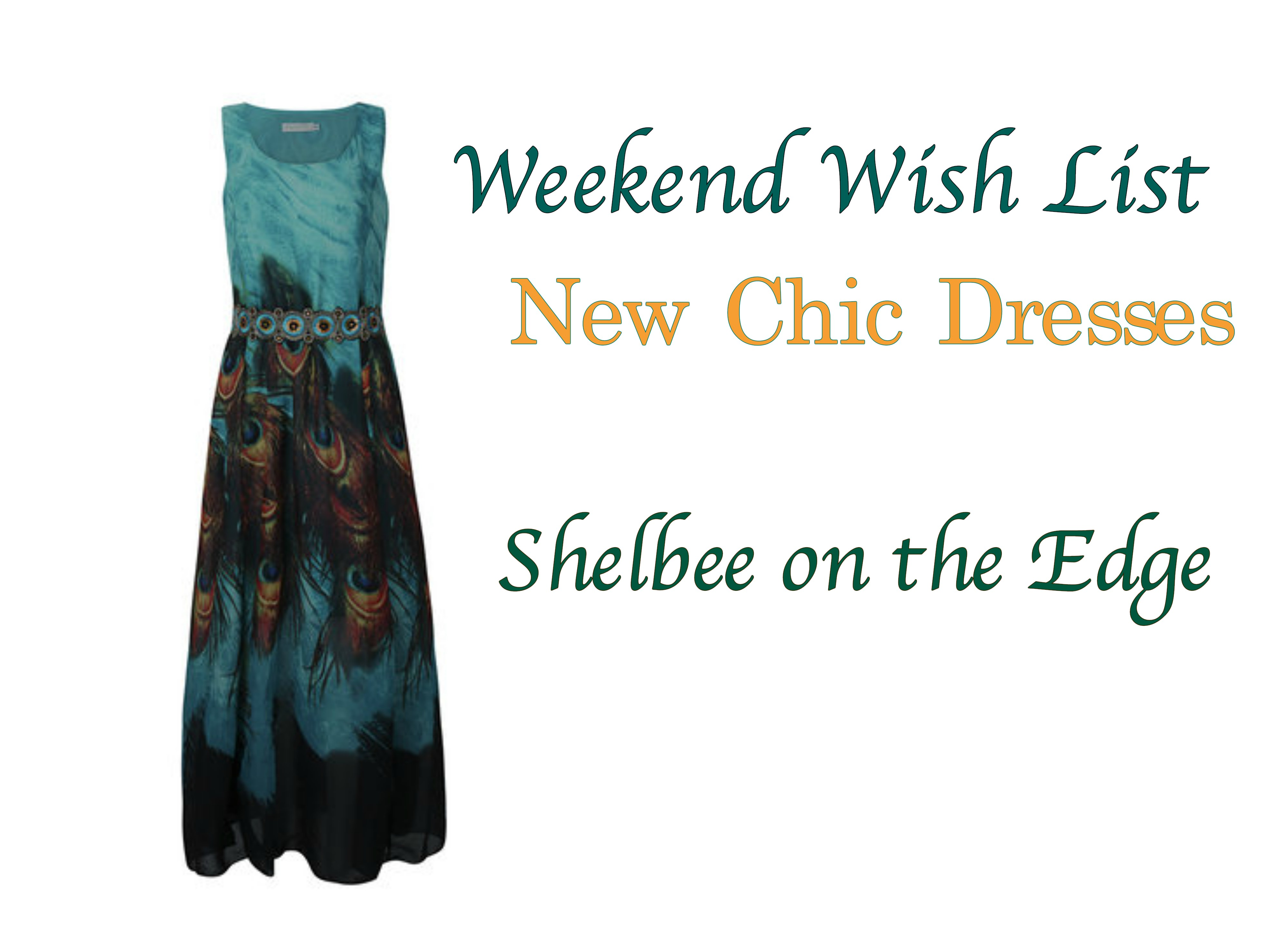 Weekend Wish List: Dresses from New Chic