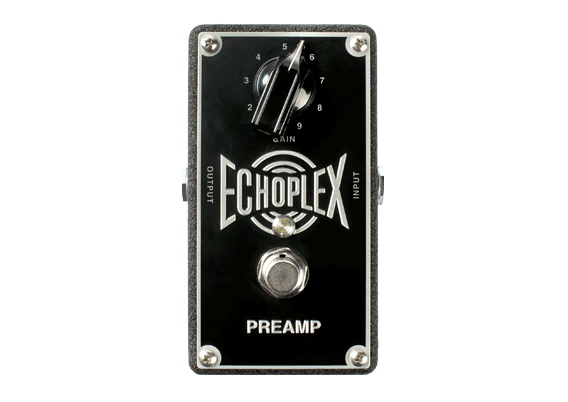 Echoplex® Preamp Faithful reproduction of the legendary Echoplex® EP-3 front end Gain boost up to +11dB True Bypass