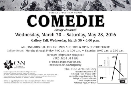 COMEDIE - College of Southern Nevada, Las Vegas