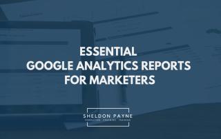 Google Analytics Reports - Sheldon Payne