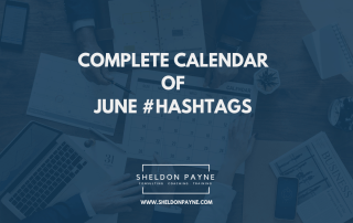 Complete Calendar of June Hashtags - Sheldon Payne