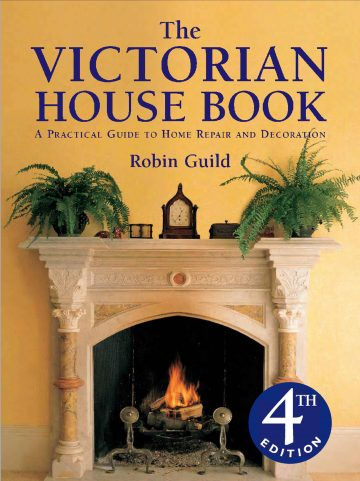 Front cover of The Victorian House Book.
