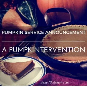 psa pumpkintervention