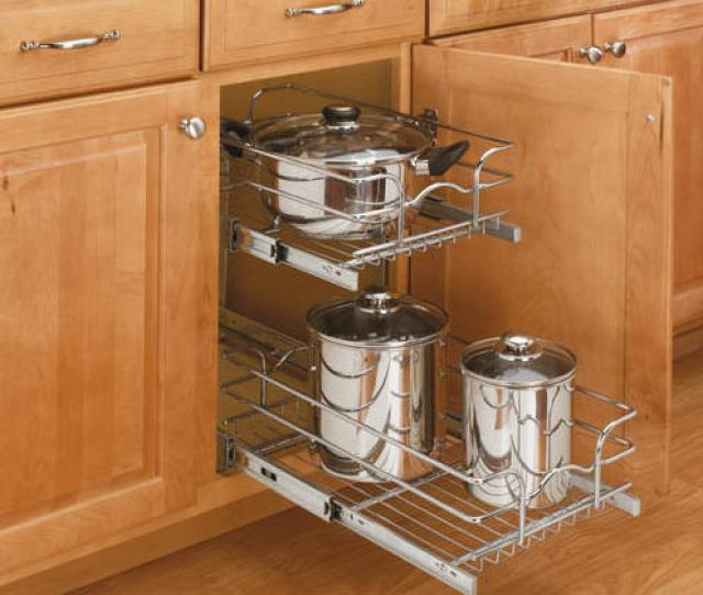 Wire Pullout Shelving