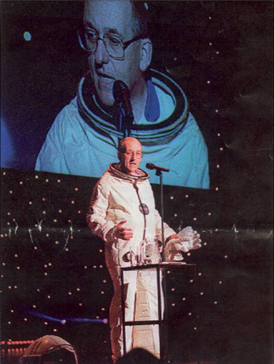 Sir Philip Watts, Royal Dutch Shell Spaceman