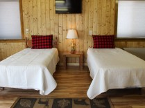 2 twin size beds in Bunkhouse