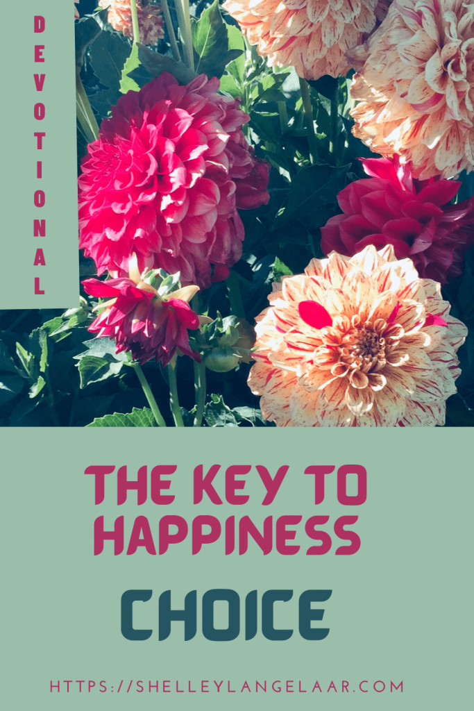 A key to happiness- choice