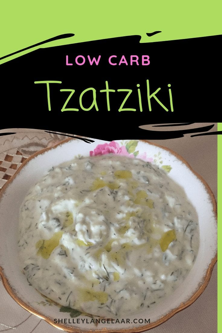 Authentic Greek tzatziki dip