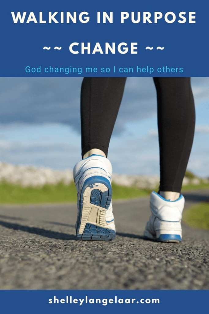 God Changing me to help others
