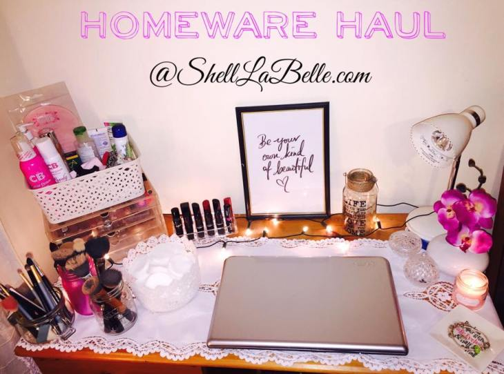 Homeware Haul - Shell La Belle