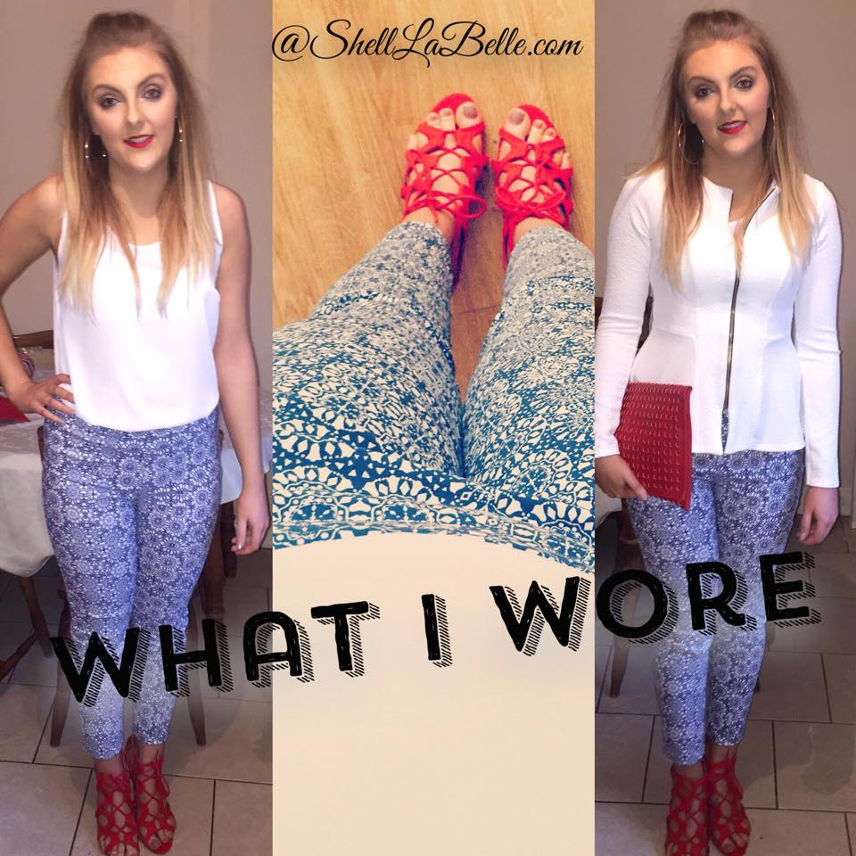 What I Wore – Penneys/Primark