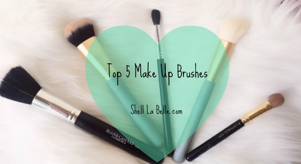 Top 5 Make Up Brushes