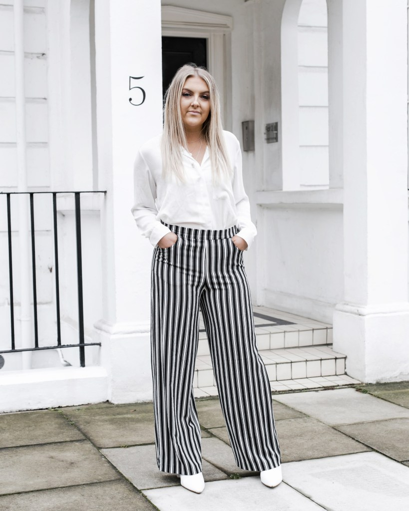 What I Wore: Getting my stripes on