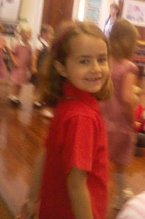 KayCee at her school awards