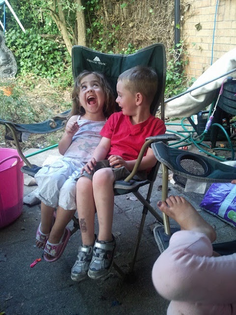 Cousins, Ella and Jake
