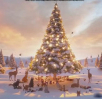 2013 John Lewis Christmas advert The Bear and the Hare