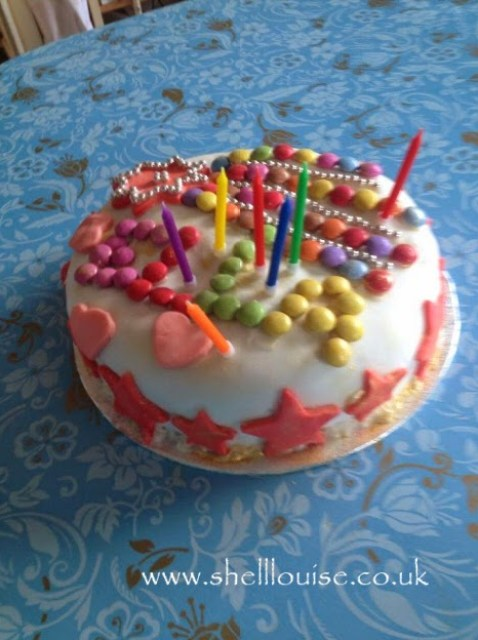 Ella's birthday cake