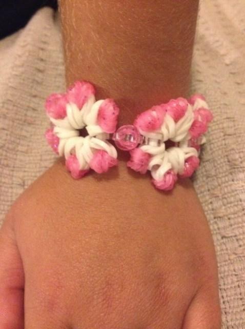 Ella's flower bracelet