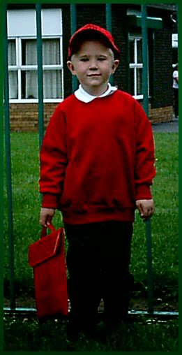Aiden's first day at school