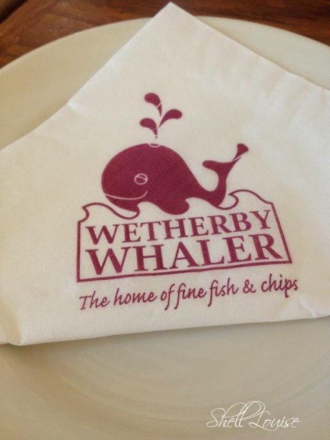 My day in photos - having fish and chips at Wetherby Whaler