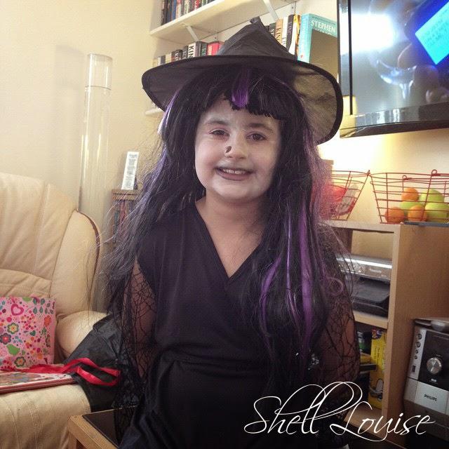Happy Halloween - KayCee in her halloween costume