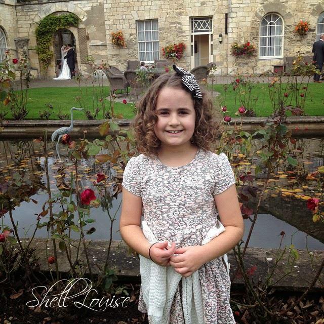 KayCee at the wedding