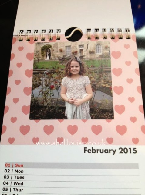 Christmas presents - February's calendar photograph