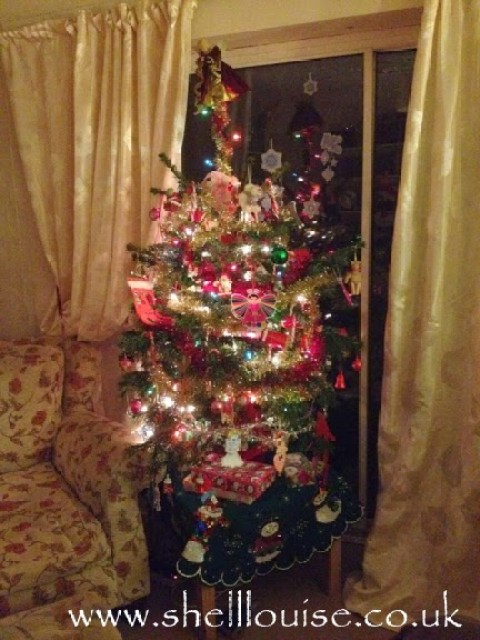 Dear diary - our first real Christms tree