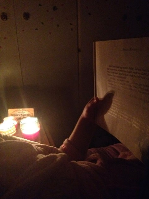 December 21st - read by candlelight