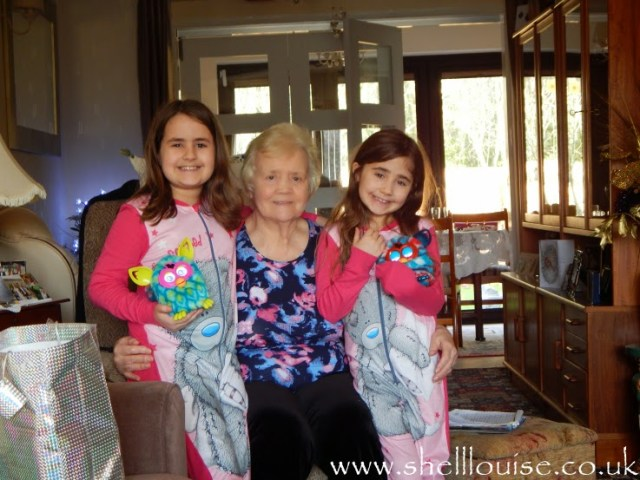 Week 12 of 52 weeks of gratitude - Nanny, KayCee and Ella