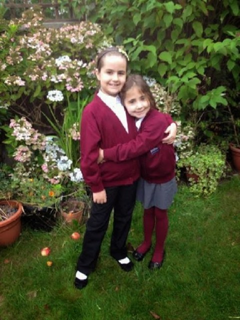 Look back at 2014 - September - Ella's now in Junior school