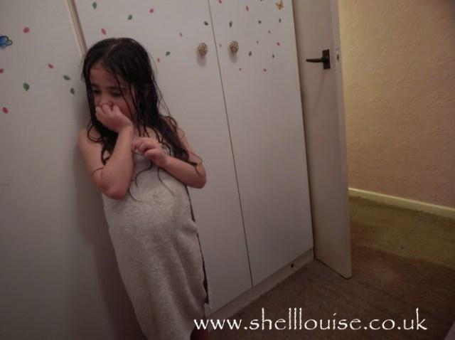 Ella after her bath
