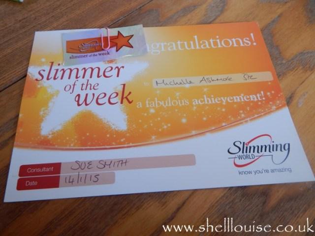 Slimmer of the week