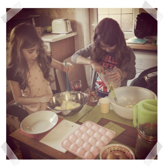Look back at 2014 - March - KayCee and Ella made cake pops