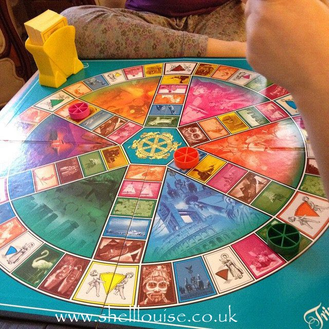 February 14th and we spent the afternoon playing Trivial Pursuit