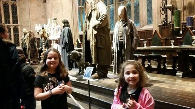 Harry Potter Studio Tour - Kaycee and Ella