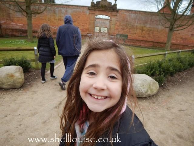 Ella at Rufford Abbey