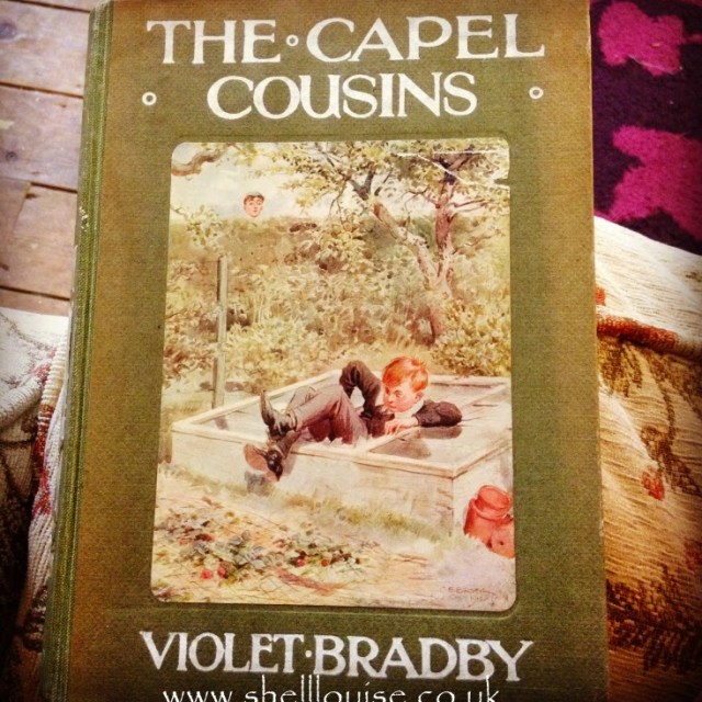 Hay-On-Wye Part 2 - The Capel Cousins book