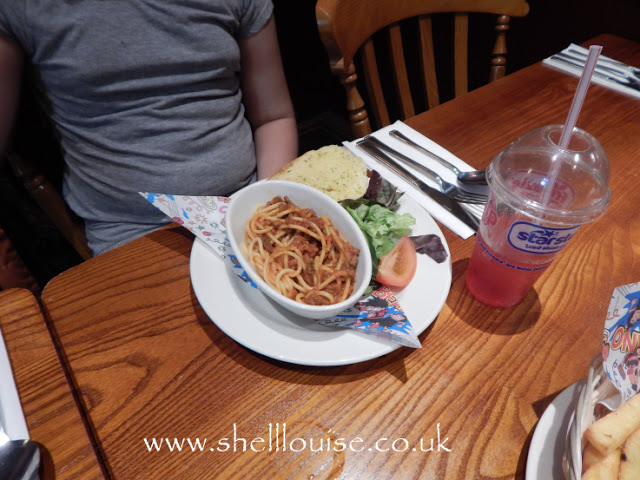 Brewers Fayre Grimsby - spaghetti bolognese