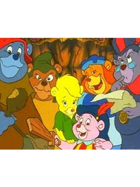 Gummibears cartoon characters