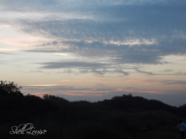 Donna Nook Nature Reserve - Evening sky