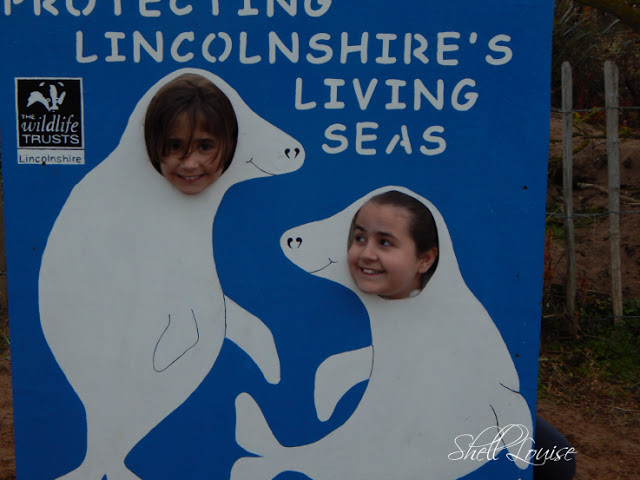 Donna Nook Nature Reserve - Kaycee and Ella