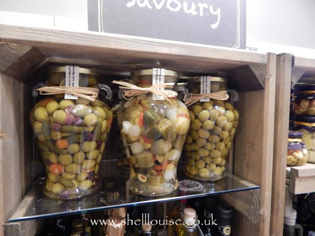 Home Sense - Large jars of pickles