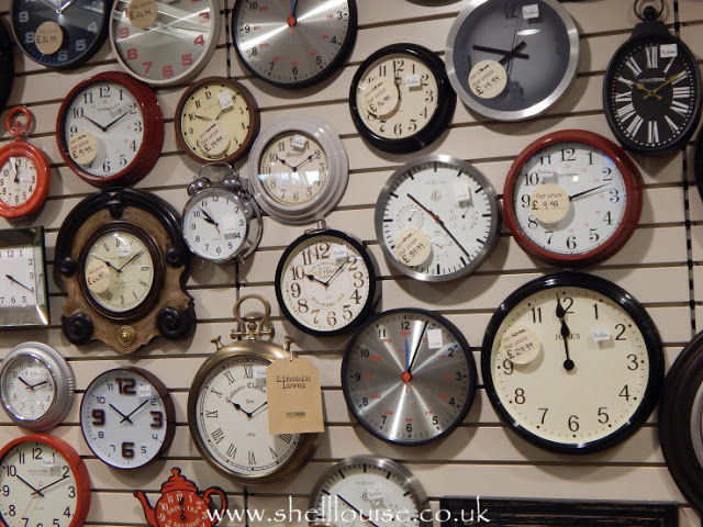 Home Sense - Lots of clocks on the wall