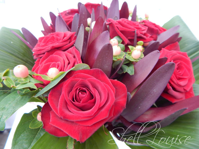 Christmas bouquets from Prestige Flowers -