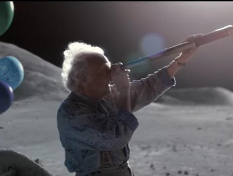 John Lewis 2015 Christmas advert Man in the moon