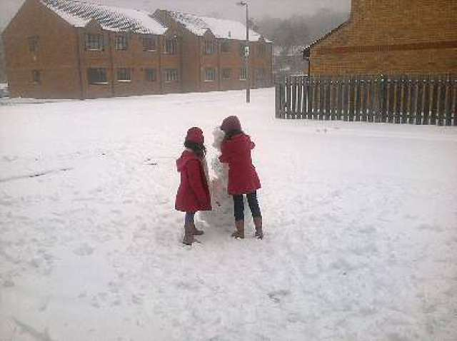 Snow in 2012