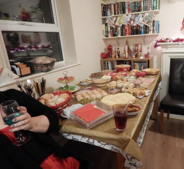 Christmas Eve - buffet tea