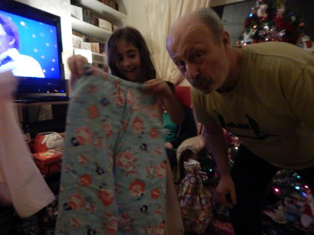 Christmas Eve - pyjamas
